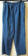 Alfred Dunner  Pants Size 14P  Blue Jean Stretch  26 X 24 Elastic Waist Casual
