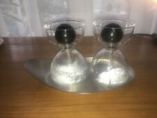 Oil and vinegar hand made set on tray by Menu ~ from Harvey Nichols Used once