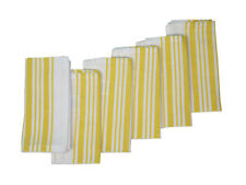 Cotton Napkins Vintage French Stripes Yellow 6/pack