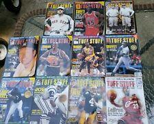 Lot of 10 Tuff Stuff Trading Card Magazine Michael Jordan. Lebron James many mor