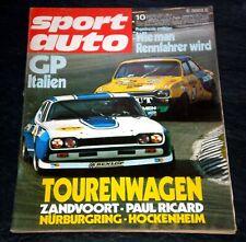 Sport Auto 10/72 Mike Hailwood,Rothmans 50000, Zandvoort, Hand-Schaltgetriebe
