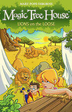 Magic Tree House 11: Lions on the Loose by Mary Pope Osborne (Paperback, 2009)