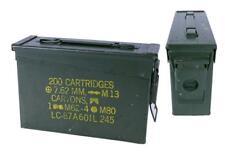 US Munitionskiste Transportbox Geocaching Metallkiste Lagerbox Aufbewahrungsbox