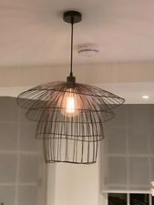 Wire pendant ceiling light