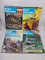 Model Railroader Magazines Back Issues Railroad 1970's 1980's