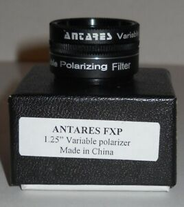 ANTARES VARIABLE POLARIZER FILTER.   NEW IN BOX.