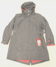 The North Face Womens Laney Trench Coat Medium Grey Heather GG8 Size XL NWT $180