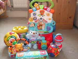 Baby Toddler Toy Bundle - VTech, Disney, Fisher Price, Chad Valley etc