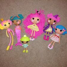 5 Lalaloopsy big dools and baby boy Lalaloopsy bundle