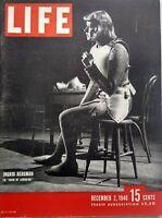 Life Magazine December 2 1946 Ingrid Bergman Photo Margaret Wise Brown