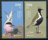 Ireland 2019 MNH National Birds Europa 2v Set Terns Plovers Waders Stamps