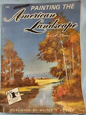 "Walter Foster Art Book ""Painting The American Landscape"" By Carl Stricker # 145"