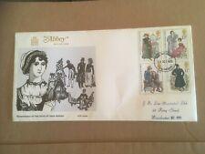 GB 1975 Jane Austen Bicentenary Abbey FDC Manchester FDI pmk