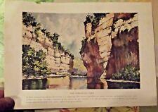 1924 Impression les Gorges du Tarn 81.