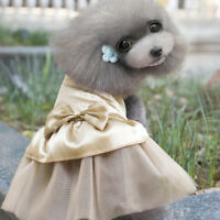 Lace Skirt Princess Tutu Dress Summer Clothes Apparel Small Pet Puppy Dog Cat