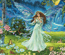 Dimensions Gold Collection Spring Fairy Counted Cross Stitch Kit