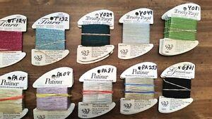 Rainbow Gallery Treasure Braid 16-strand 10 yds blue TR68