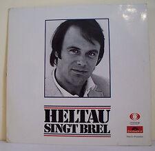 """33 tours Michael HELTAU Disque Vinyle LP 12"""" SINGT BREL - POLYDOR 63853 RARE"""