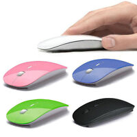 2.4GHz USB Wireless Optical Mouse Mice for iMac Macbook Pro Air PC Laptop