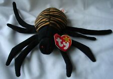 Spinner Beanie Baby Spider Ty 5th generation tush tag 4th gen hang tag New NOS