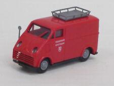 """DKW F 89 L Transporter in rot """"Feuerwehr Stuttgart"""" ohne OVP, Praliné, 1:87"""