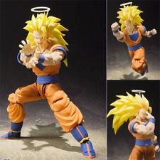 S.H.Figuarts Dragon Ball Z Super Saiyan 3 Son Goku 2.0 Gokou DBZ PVC Figure NIB1