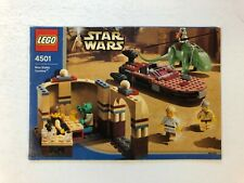 Lego Star Wars 4501 (2003) Mos Eisley Cantina  - Instructions Only - Excellent F