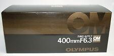 Olympus OM-System Zuiko Auto-T 400mm f6, 3