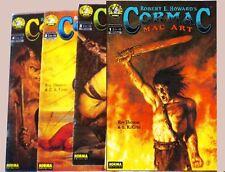 ROBERT HOWARD: CORMAC no conan R.THOMAS/CRUZ Colección completa de Norma ed.