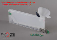 220ml Refillable cartridge with CHIP SOCKET for Roland and Mimaki printer