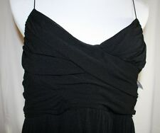 Maternity Large Formal Black Top Spaghetti Straps Dressy Party Fancy NWT