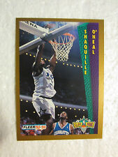 Shaquille O'Neal Rookie Fleer Tony's Pizza 92 93 Slam Dunk Card Mint