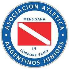 "Argentinos Juniors Argentina Football Soccer Car Bumper Sticker Decal 4.6""X4.6"""