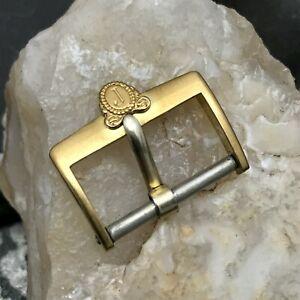 Juvenia 16mm Swiss Gold-Plaque 1950s-1960s Vintage Watch Strap Buckle