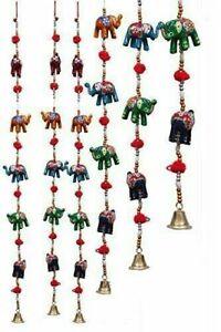 Wholesale lot Indian Handicraft Elephant Wall Decor Door Hanging Screen Toran