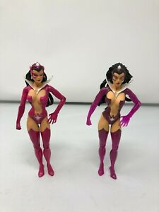 Star Sapphire - DC Direct Green Lantern - Action Figure - USED - Pair of 2