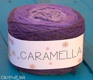 Lana 180g CARAMELLA MONDIAL col. 654
