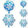 Christmas Snowflake Aluminium Foil Balloons Air Balloons Home Party Decor Gift!