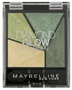 Maybelline Eye studio Eyeshadow 05 Forest Drama Quad diamond glow New sealed