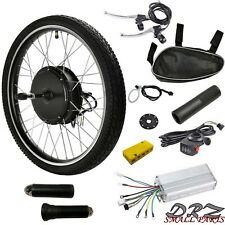 "Front Wheel Hub 36V 500W Electric Bicycle Motor Kit Converts 26"" inch Ebike"