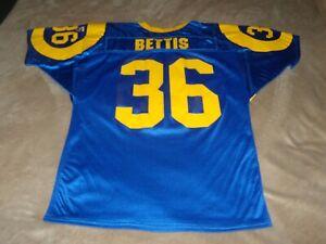 Vintage Wilson LOS ANGELES RAMS Jerome Bettis Football Jersey (Sz. L)