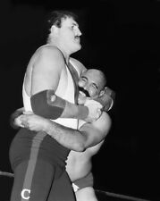 Pro Wrestler SGT SLAUGHTER vs IRON SHEIK Glossy 8x10 Photo WWF Print Poster