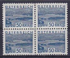 Österreich Mi Nr. 541 ** 4er Block, 1932, postfrisch
