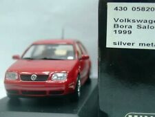 WOW EXTREMELY RARE VW Bora Saloon 1.8 4WD 20V 1999 Red 1:43 Minichamps-Golf/GTi