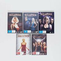 Battlestar Galactica DVD Complete Series All 4 Seasons Boxed Set Free Postage R4
