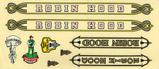 ROBIN HOOD 1 SET VINTAGE BIKE BICYCLE STICKER DECAL NOS HIGH QUALITY