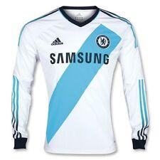 * 12/13-Chelsea Away Camisa Manga Larga/= Personalizado Tamaño Grande *