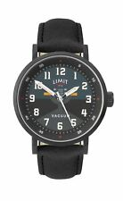 Limit Pilot Design Gents Watch Black & Teal Dial with Black Strap 5972