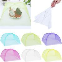 HOT Large Pop-Up Mesh Screen Protect Food Cover Tent Dome Net Umbrella Picnic