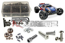 RC Screwz TRA023 Traxxas Rustler VXL Stainless Steel Screw Kit NEW